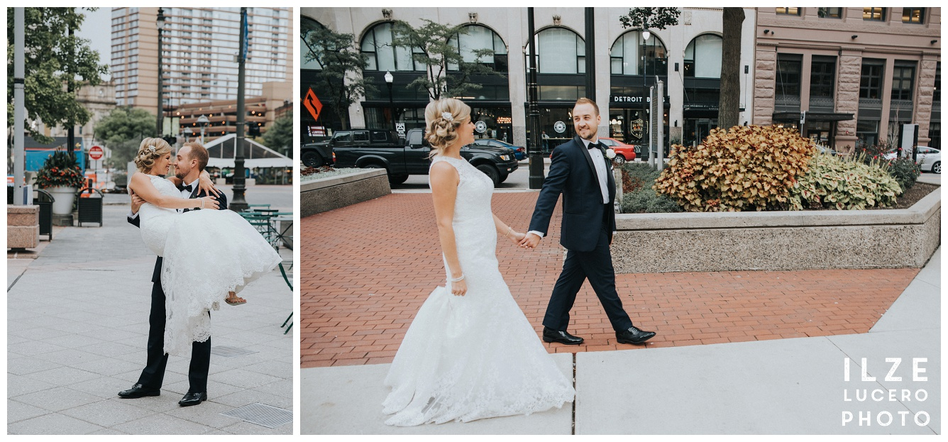 Contemporary Detroit wedding photographer