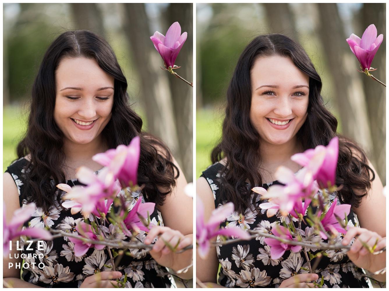 Magnolia Clarkston Senior Photo Session