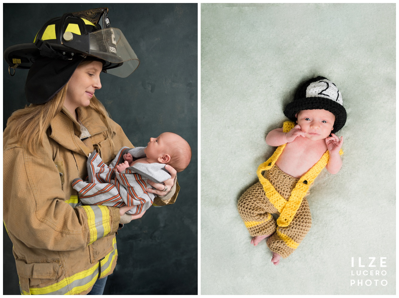 Firefighter mom