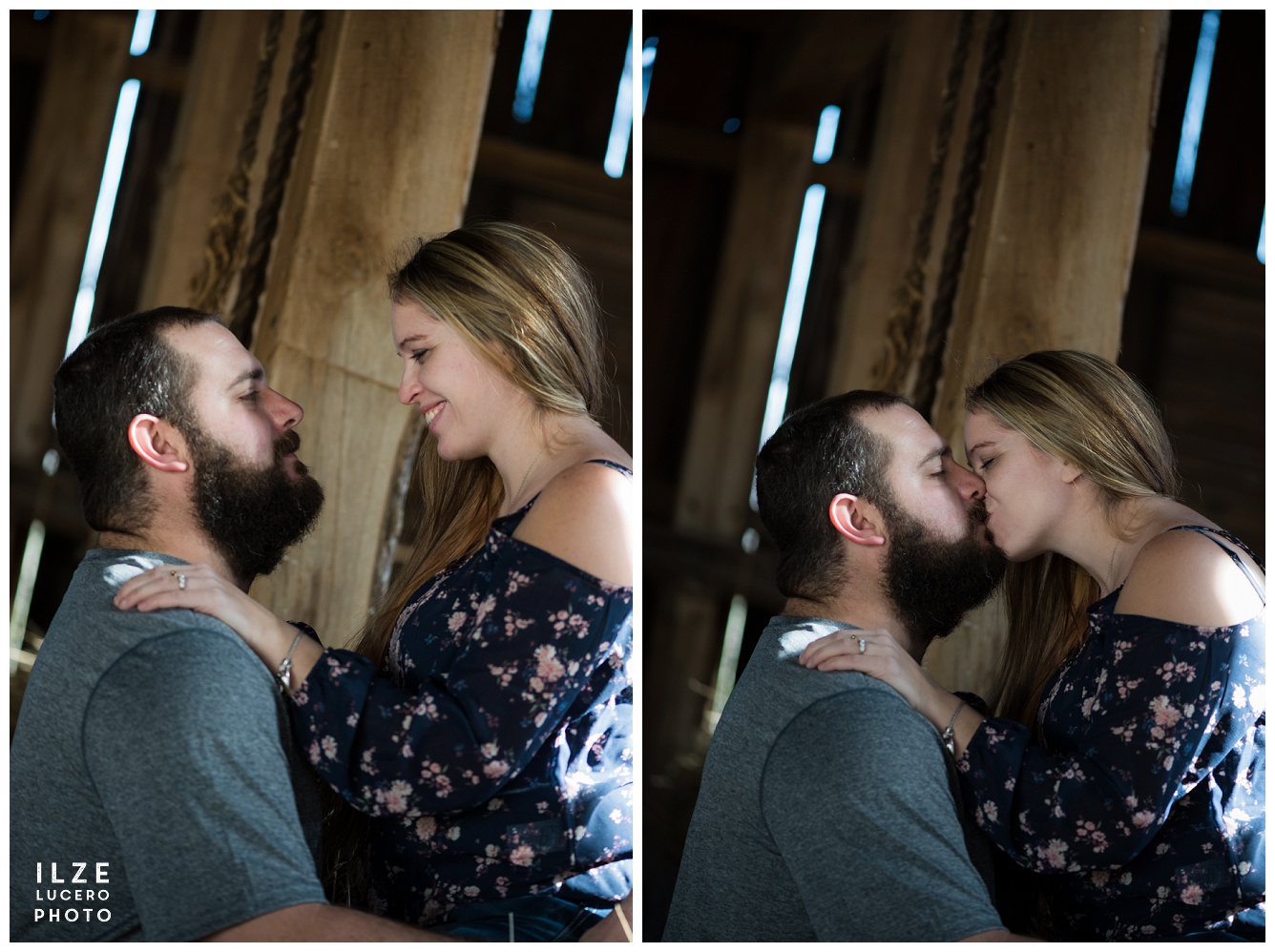 Barn Engagement Photo Session