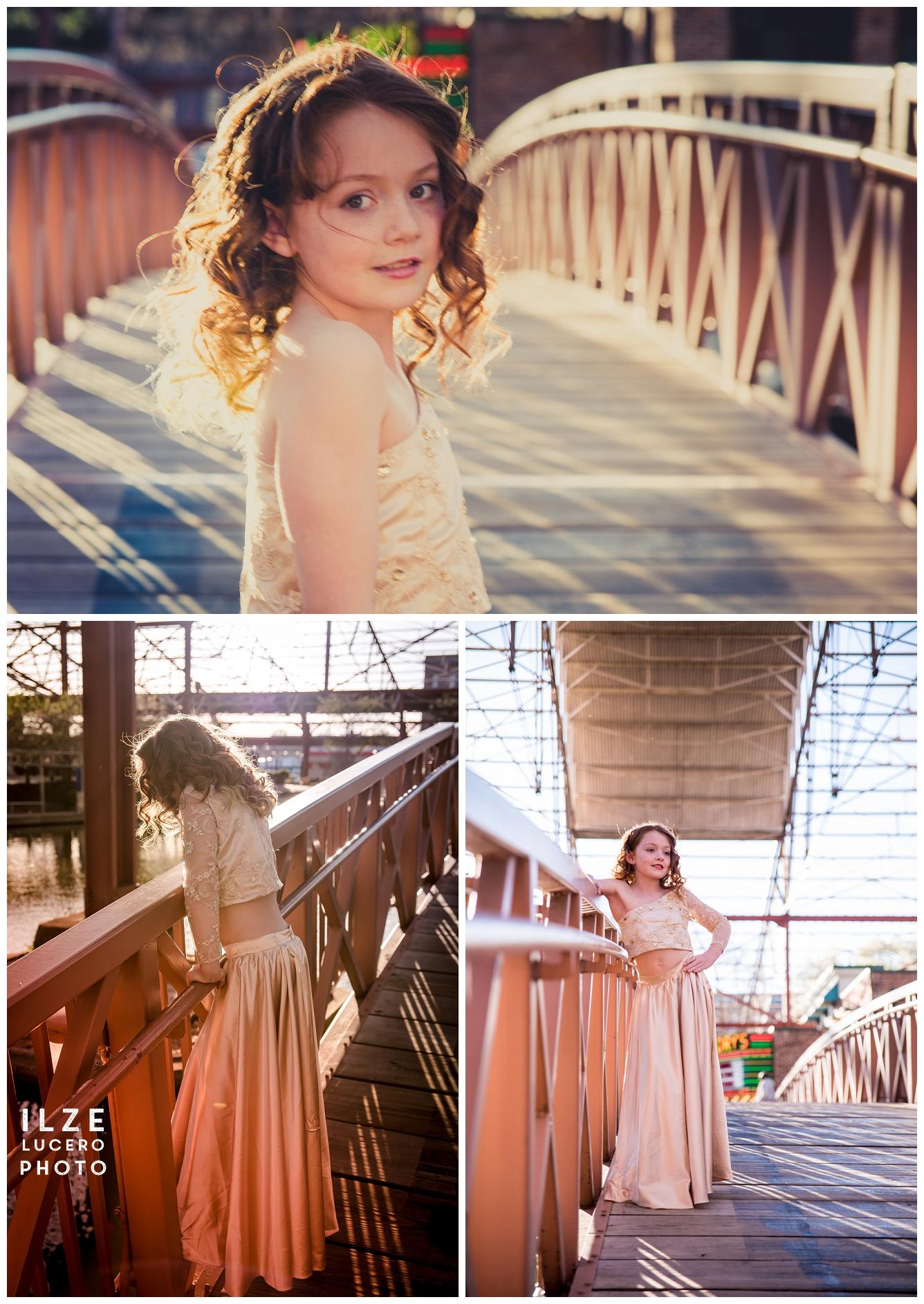 young model - fun fashion shoot