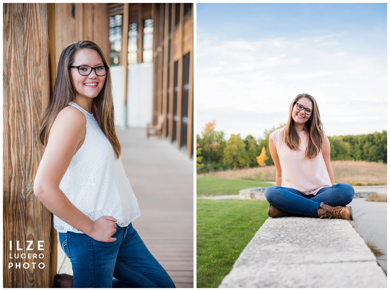 Senior Photo Session Indian Springs Metropark
