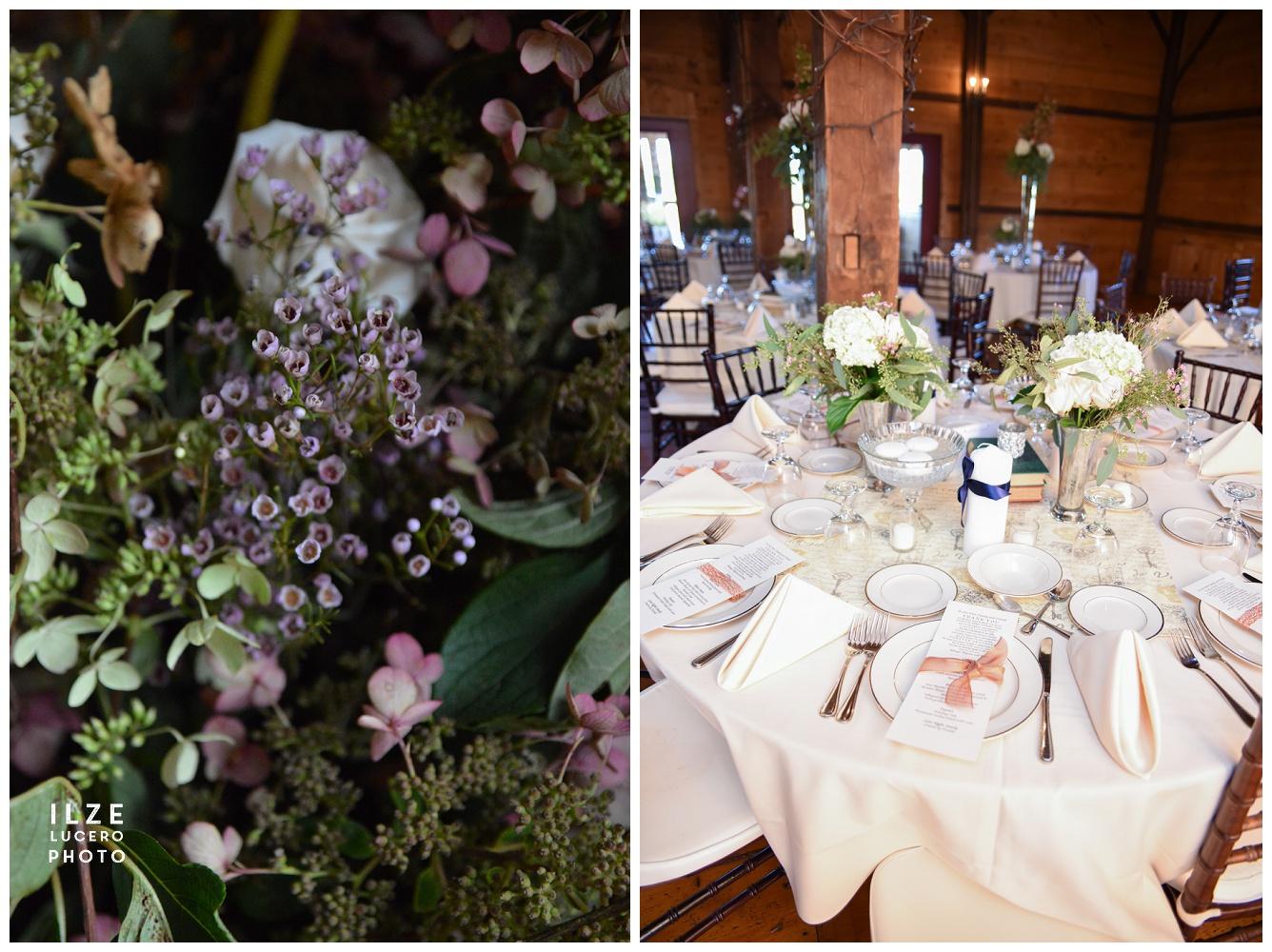 barn wedding  - decor