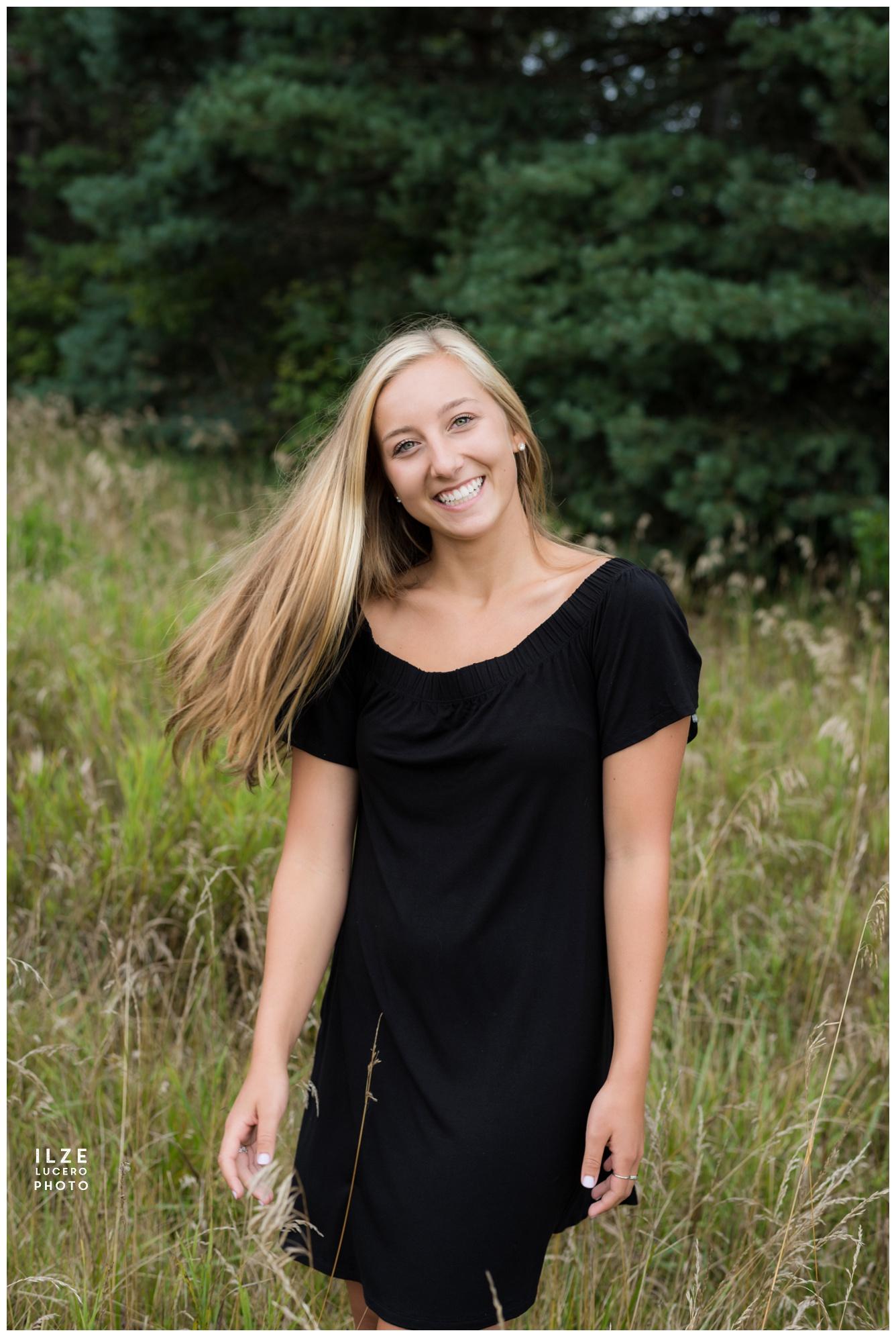 Ortonville senior photo shoot