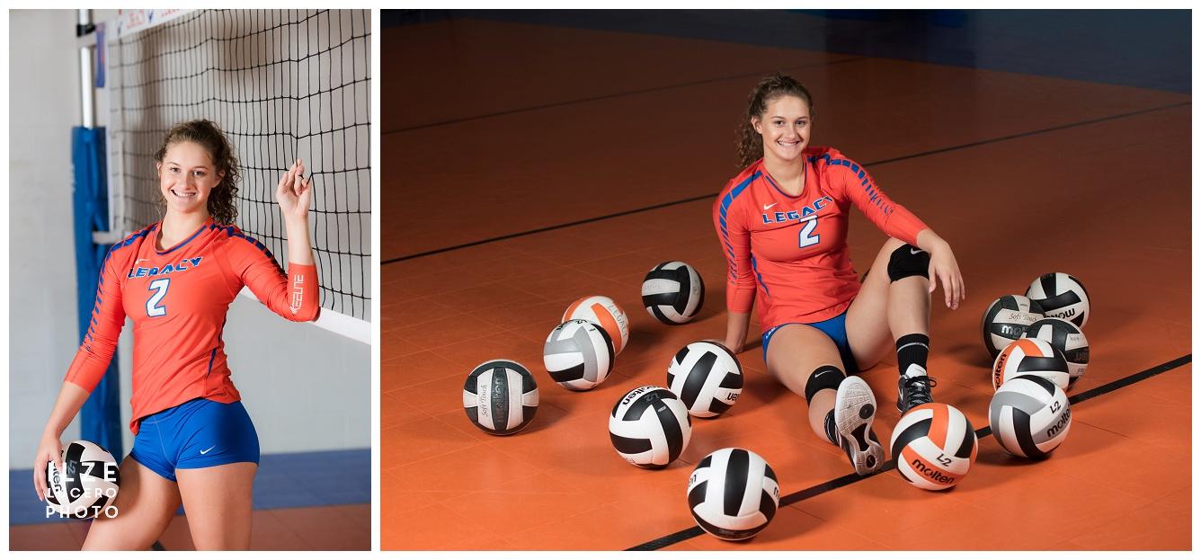 Volleyball Senior Photo Shoot