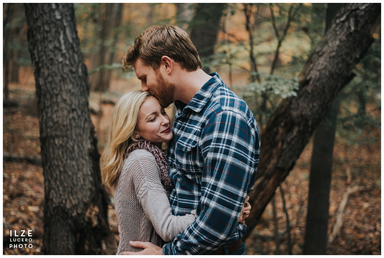 Fall couple photo session