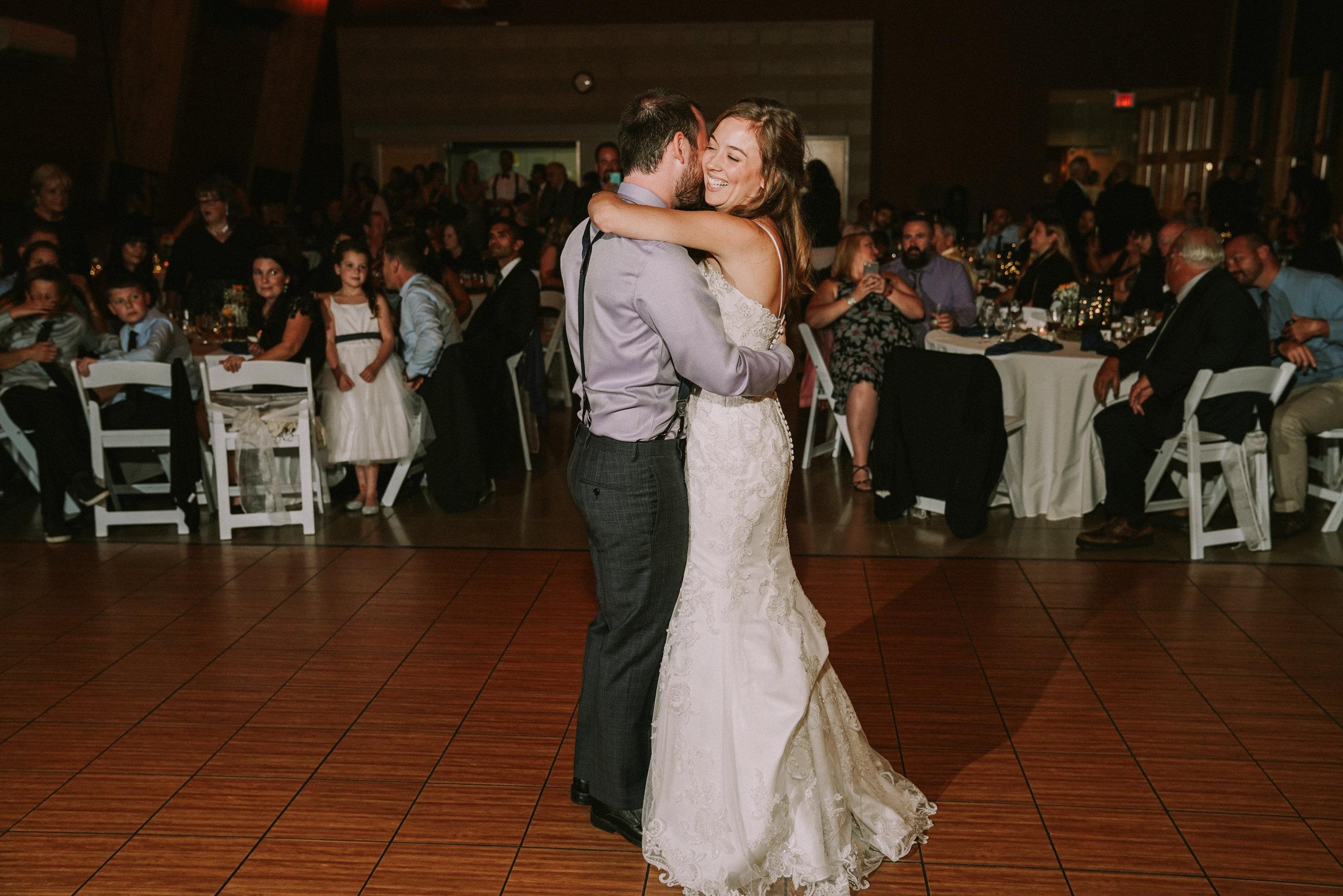 First Dance -  Clarkston Wedding Photogrpher