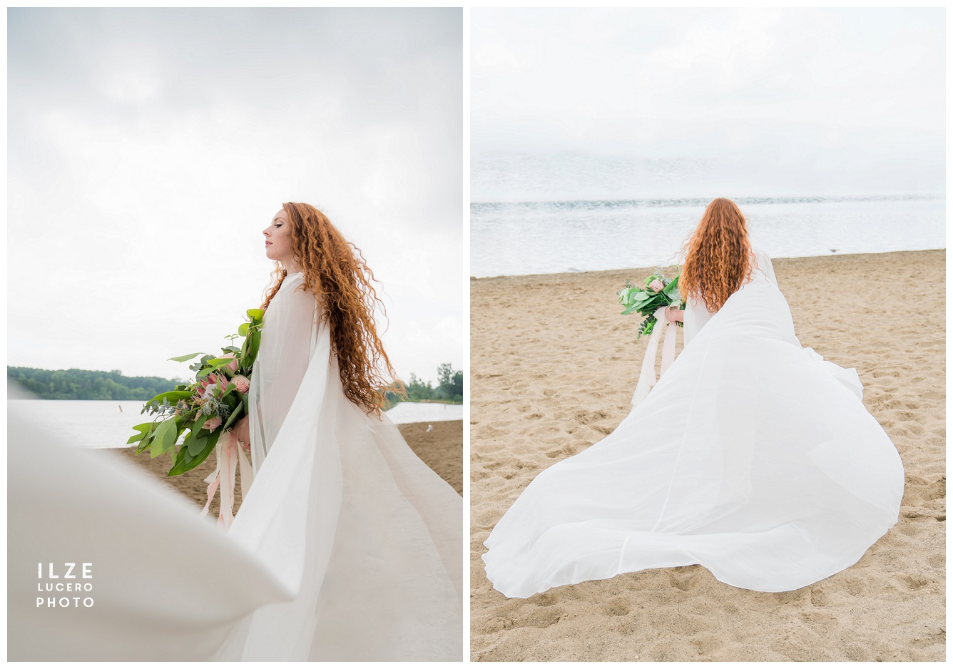 Bridal Cape Photo Shoot