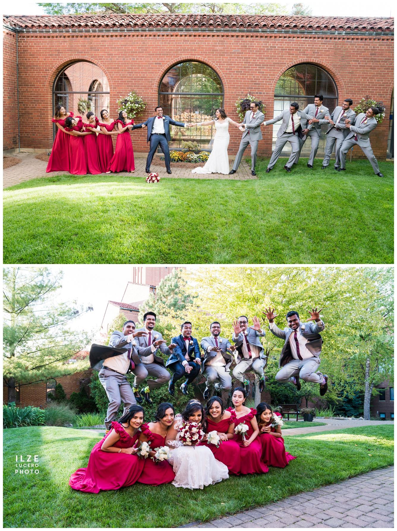 Fun wedding photo ideas Detroit