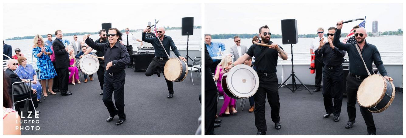 Iranin Wedding Drummers