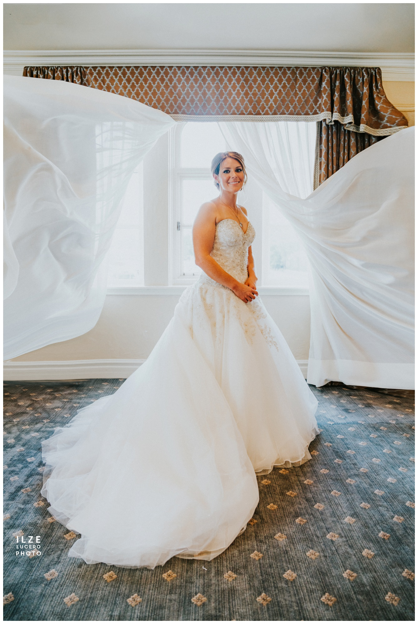 Bride - grosse pointe yacht club wedding