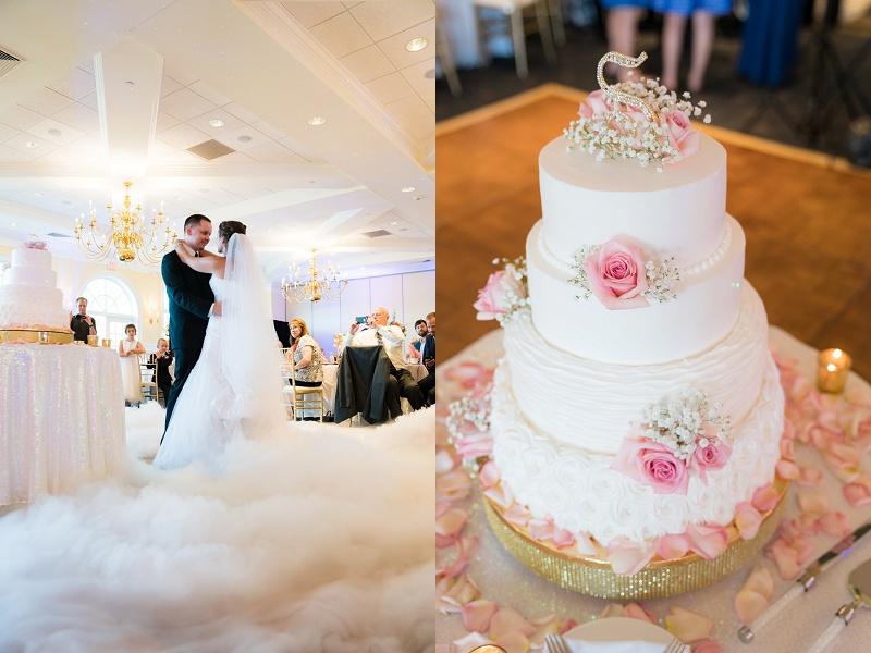 ukrainian Wedding First Dance Smoke machine