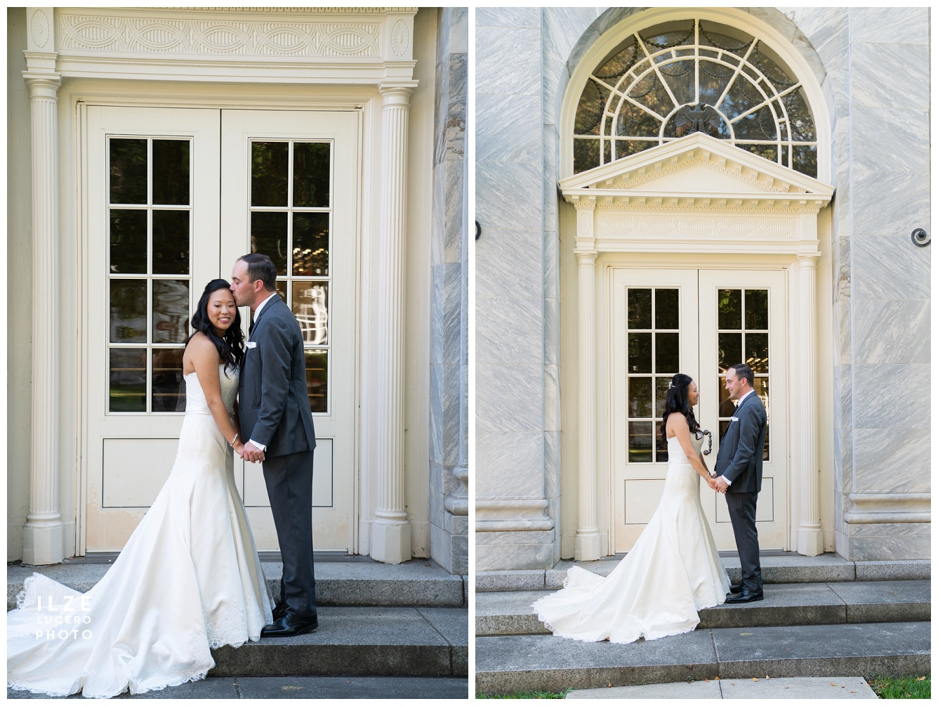 Detroit wedding at henry Ford Museum