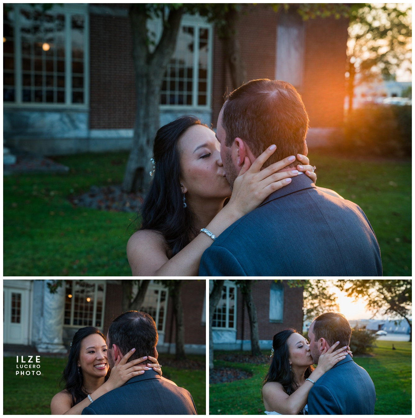 Sunset wedding photo inspiration Detroit