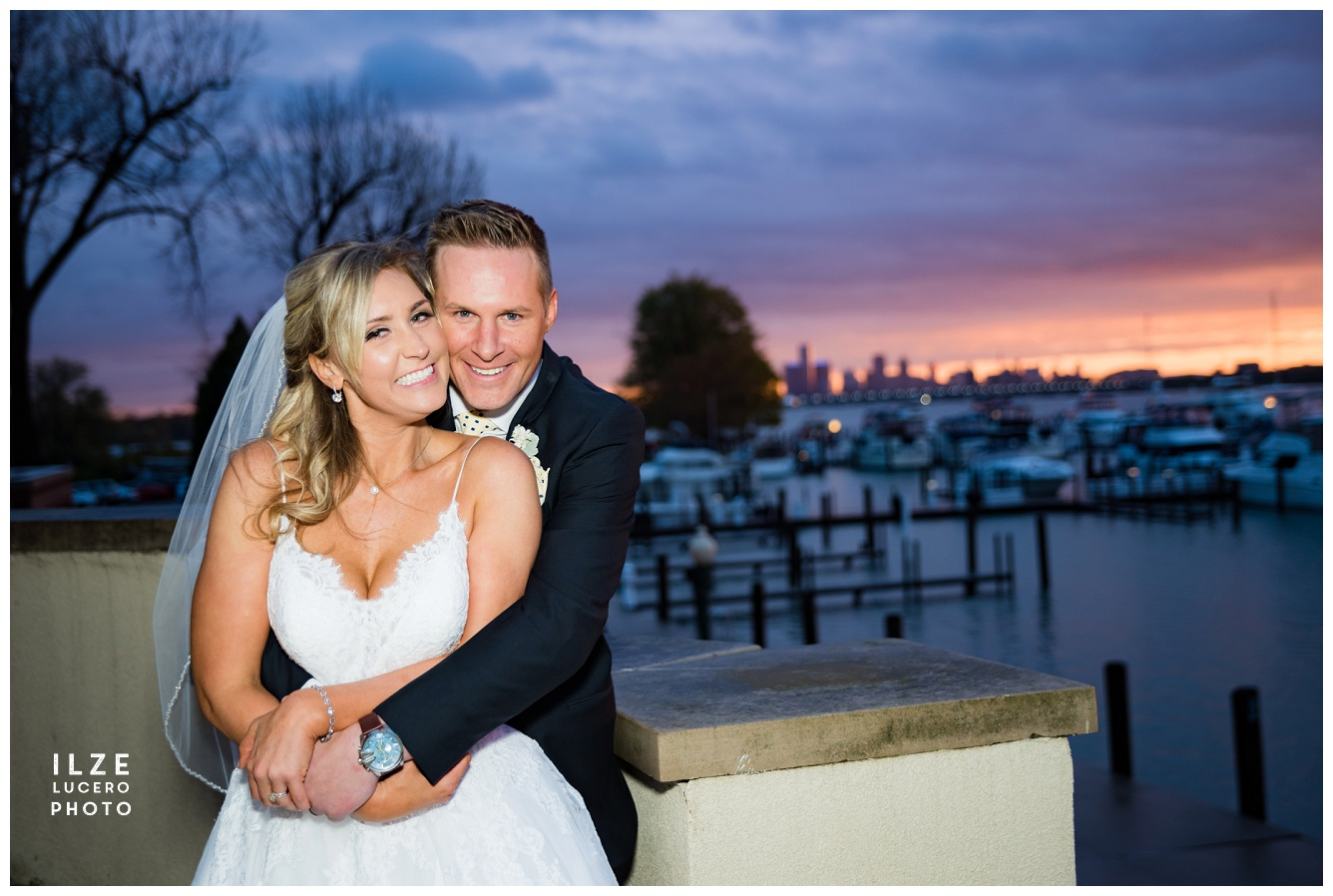 Belle Isle Yacht Club Wedding