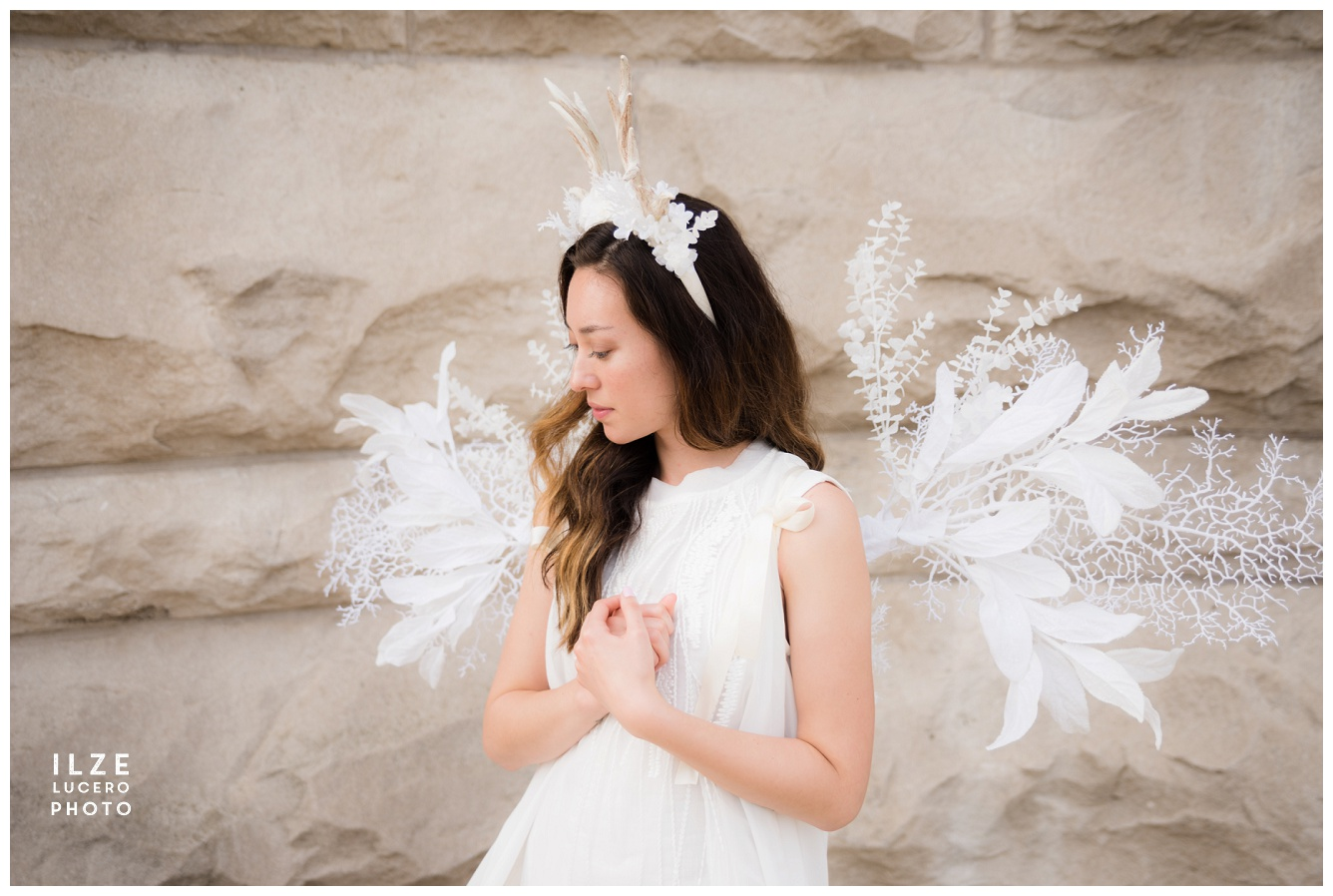 Cosplay fairy angel wings