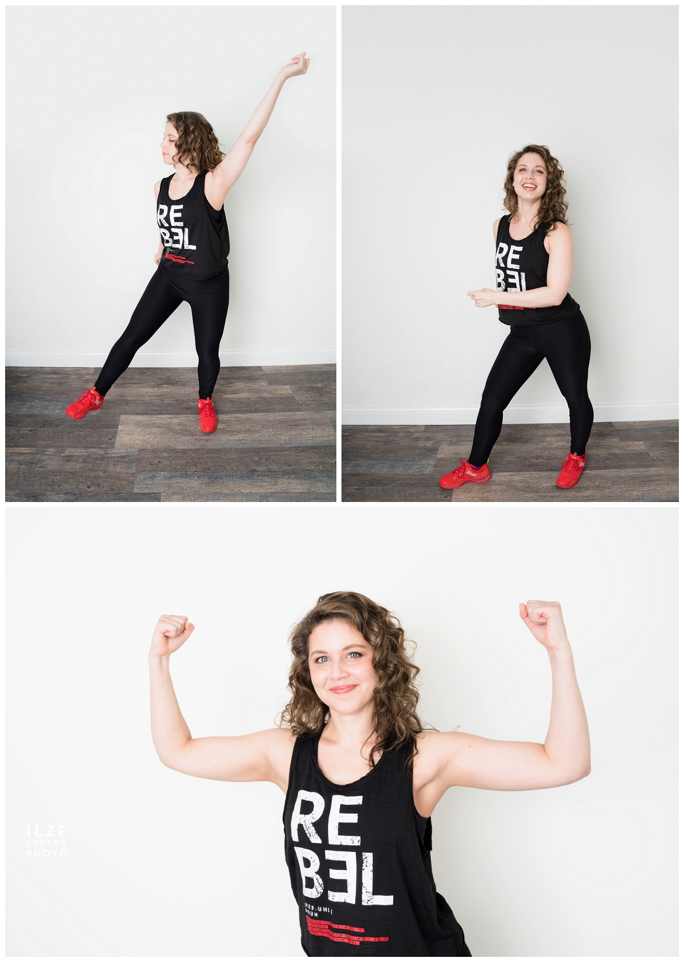 Zumba instructor photo shoot