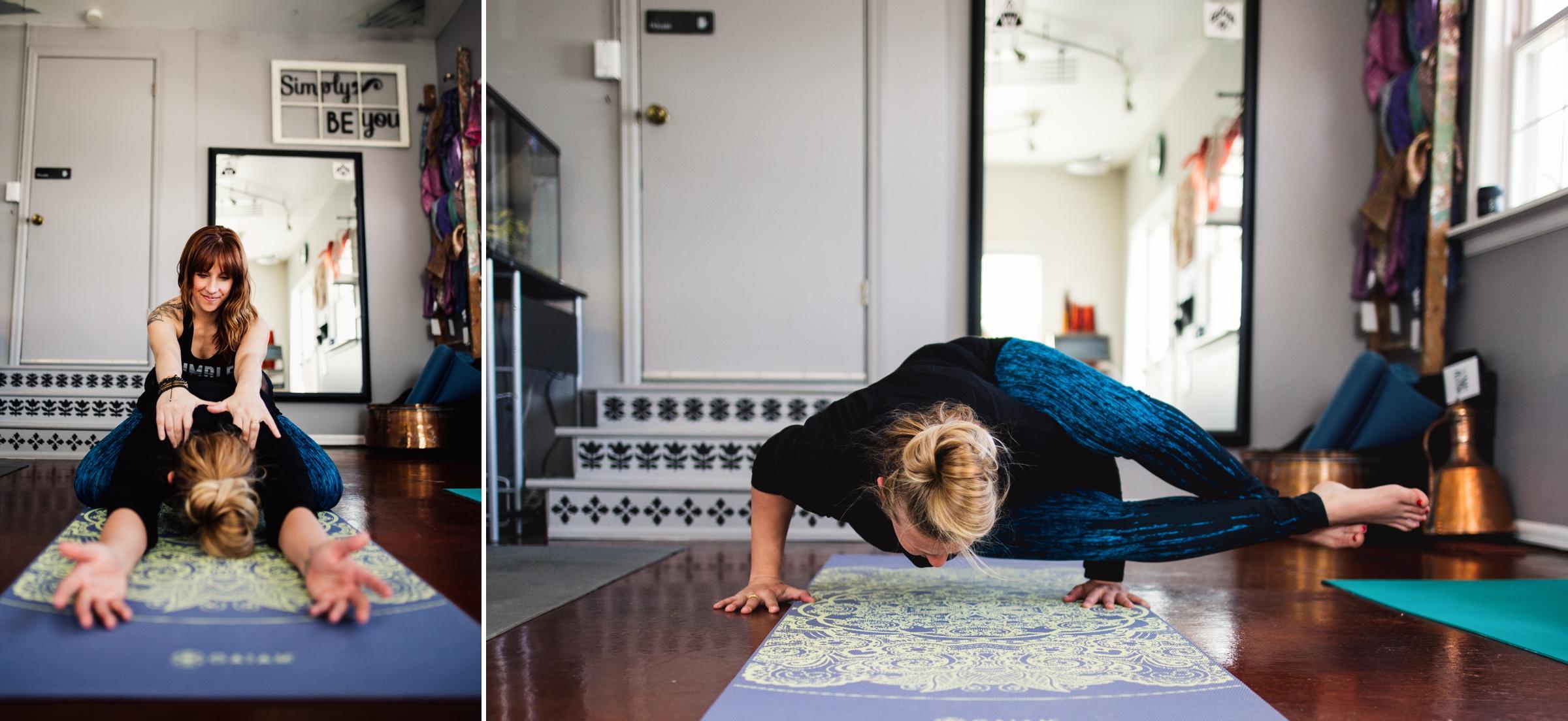 denver yoga studio, yoga studio, therapy yoga studio, colorado social medial photographer