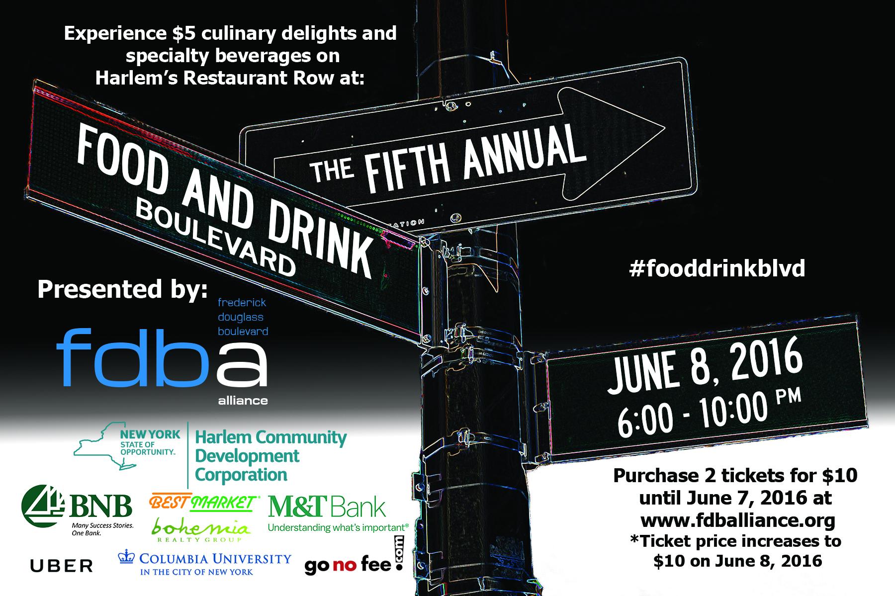 Food & Drink Boulevard 2016