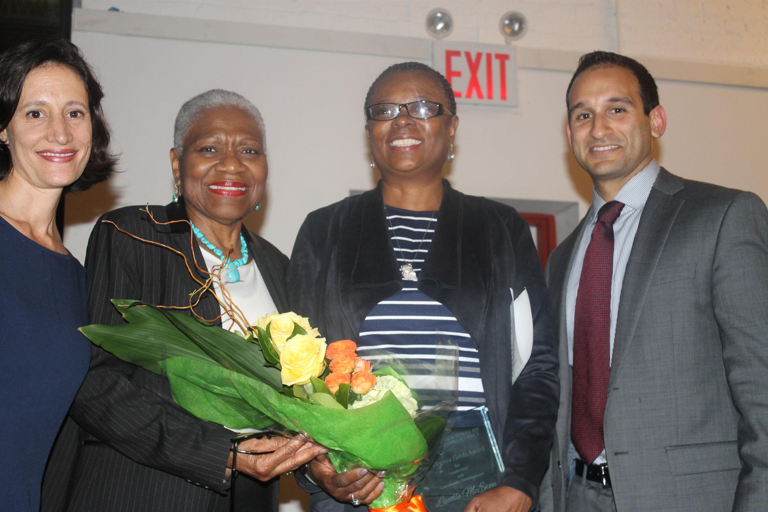 C. Virginia Fields Award 2015
