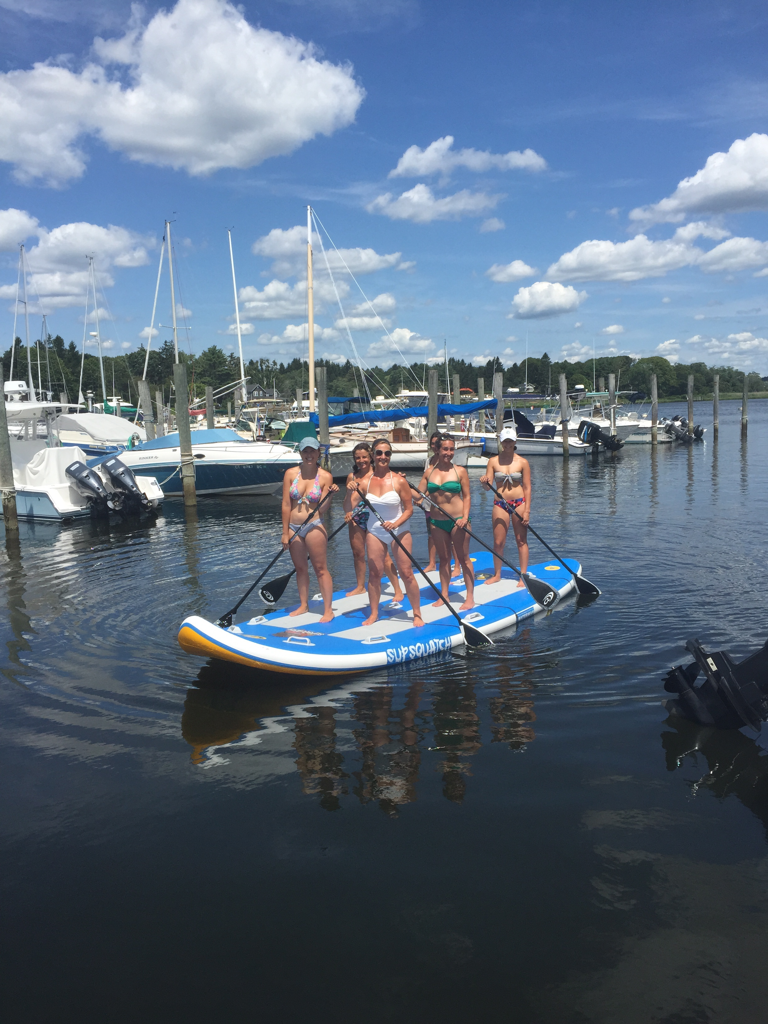 SUPSQUATCH - PARTY PADDLE BOARD