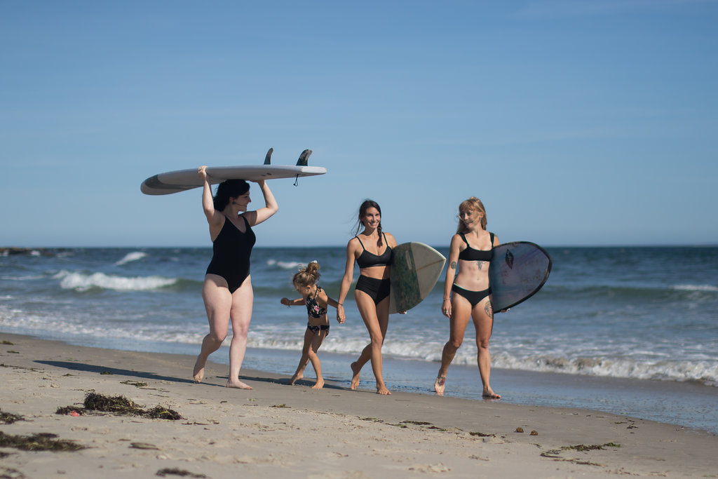 SURF CHICKS - Group lessons for Surfer Girls only! Friday nights in July & August.