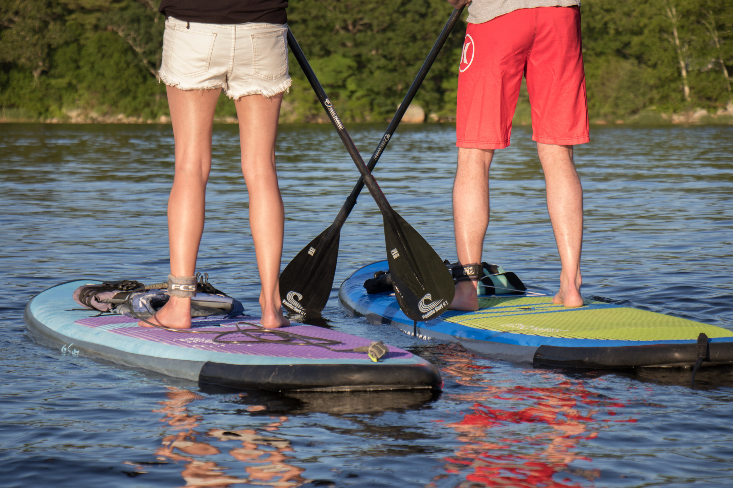 PADDLE LESSONS - Walk on water.