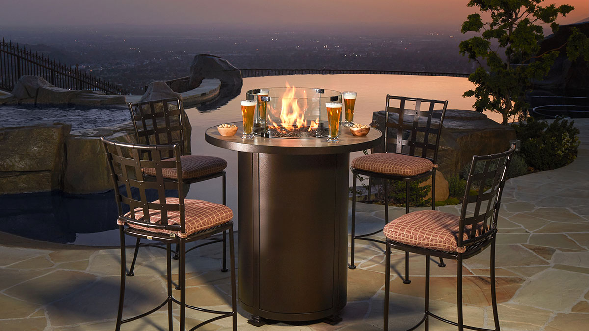 OW Lee - Counter Height Fire Pit
