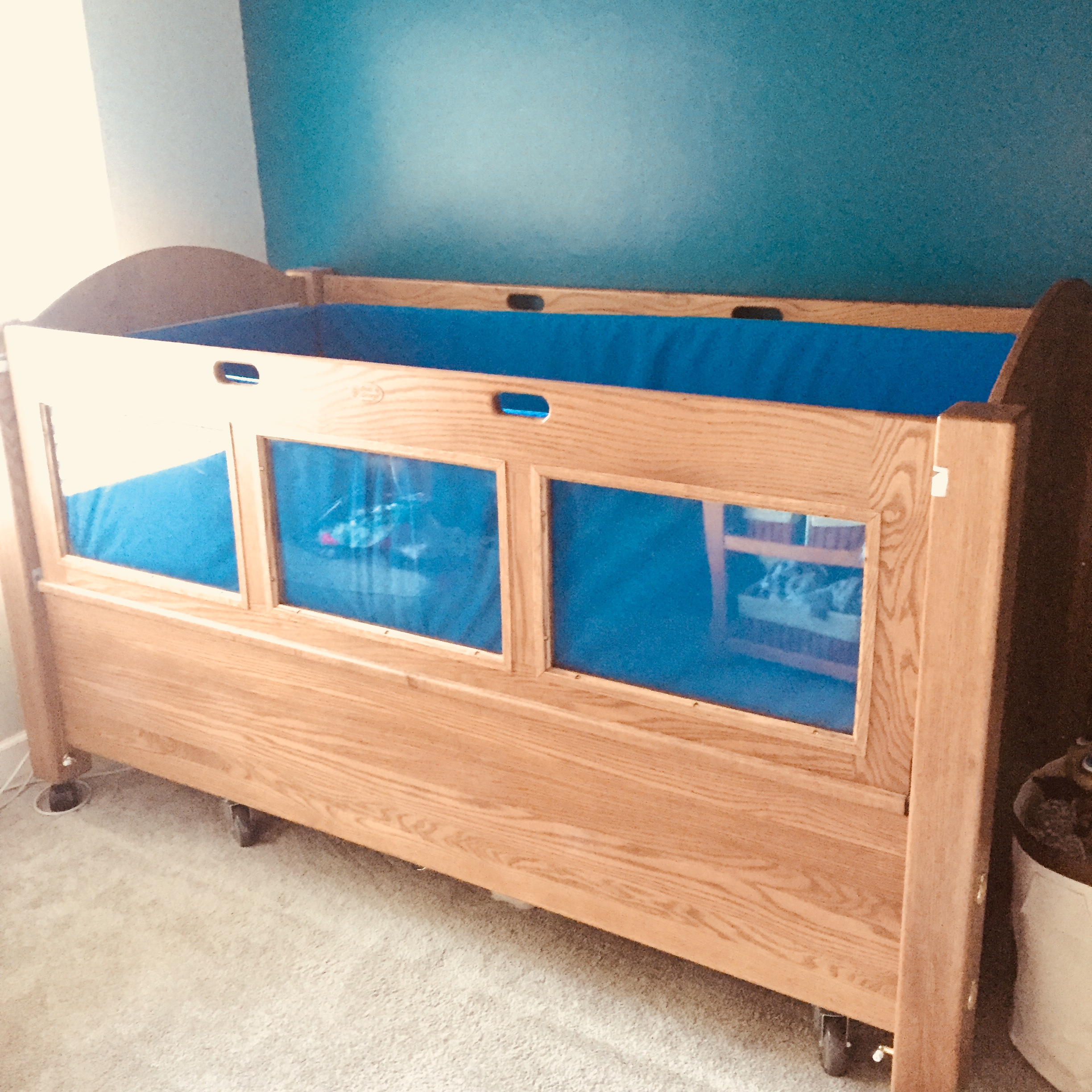 Maxwell's Beds by George Safety Bed!