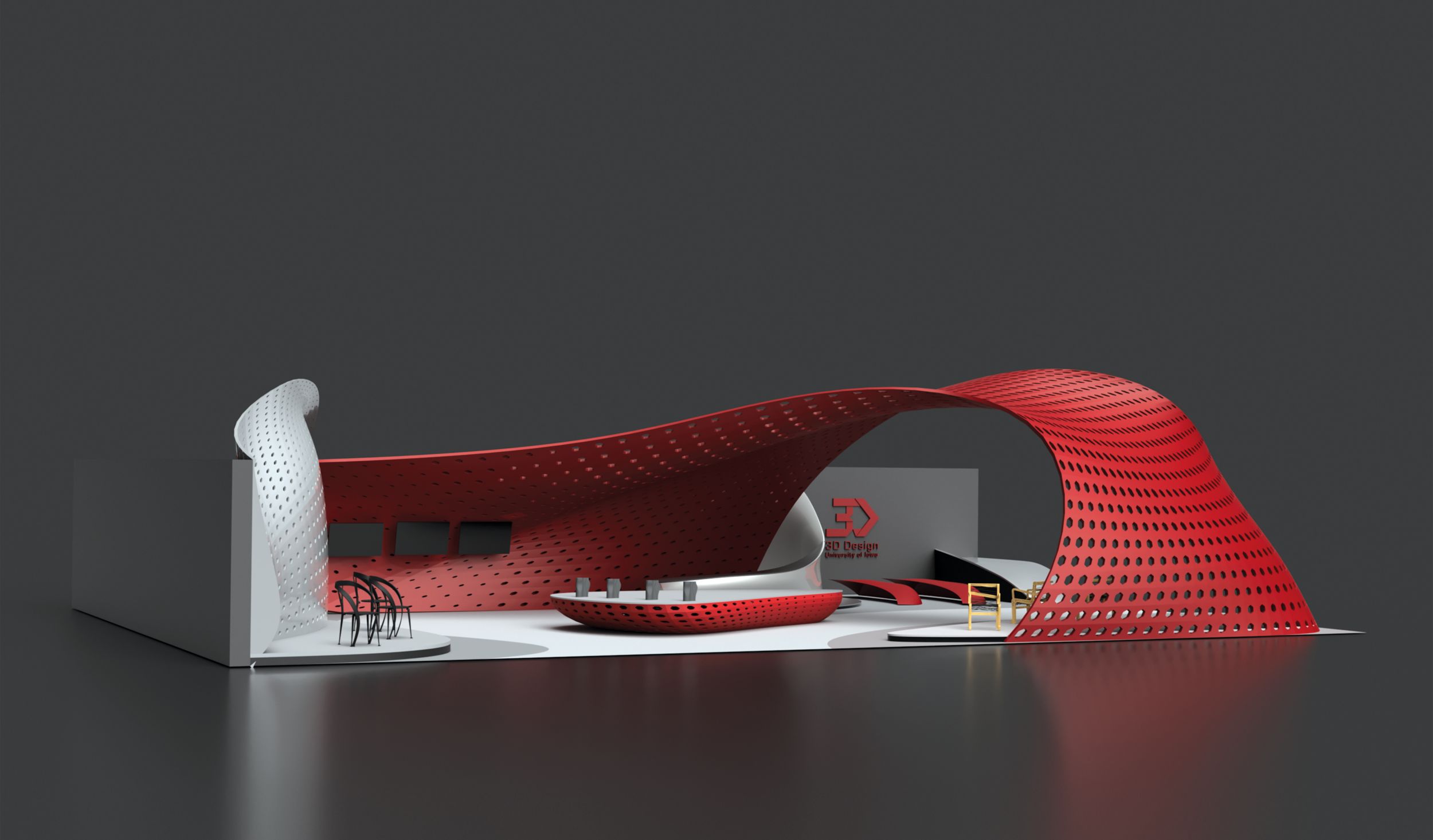 3D Design Program Booth Design