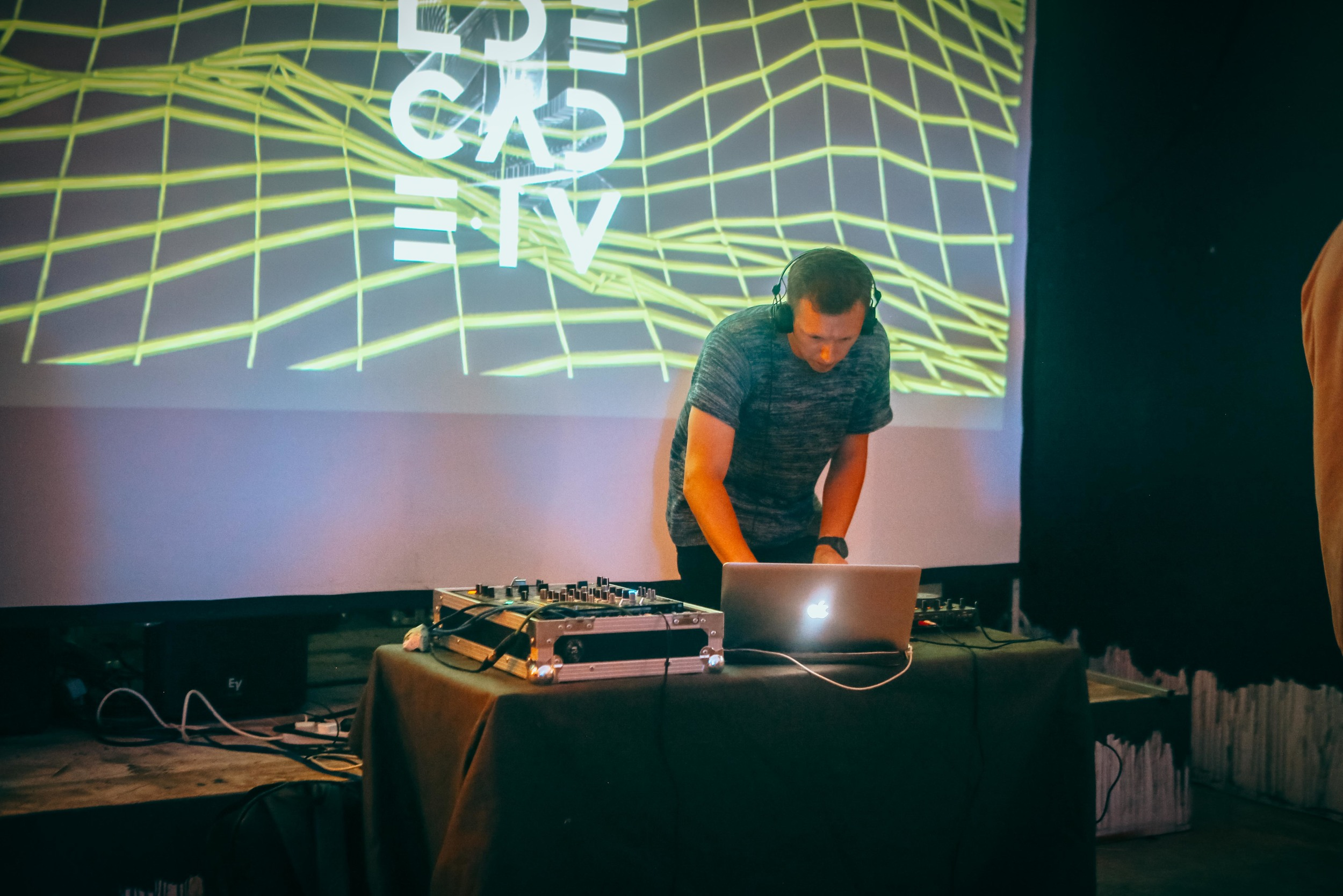 Ben Paul at Digital Decade London opening night, July 4. Photo by So!Fraiche
