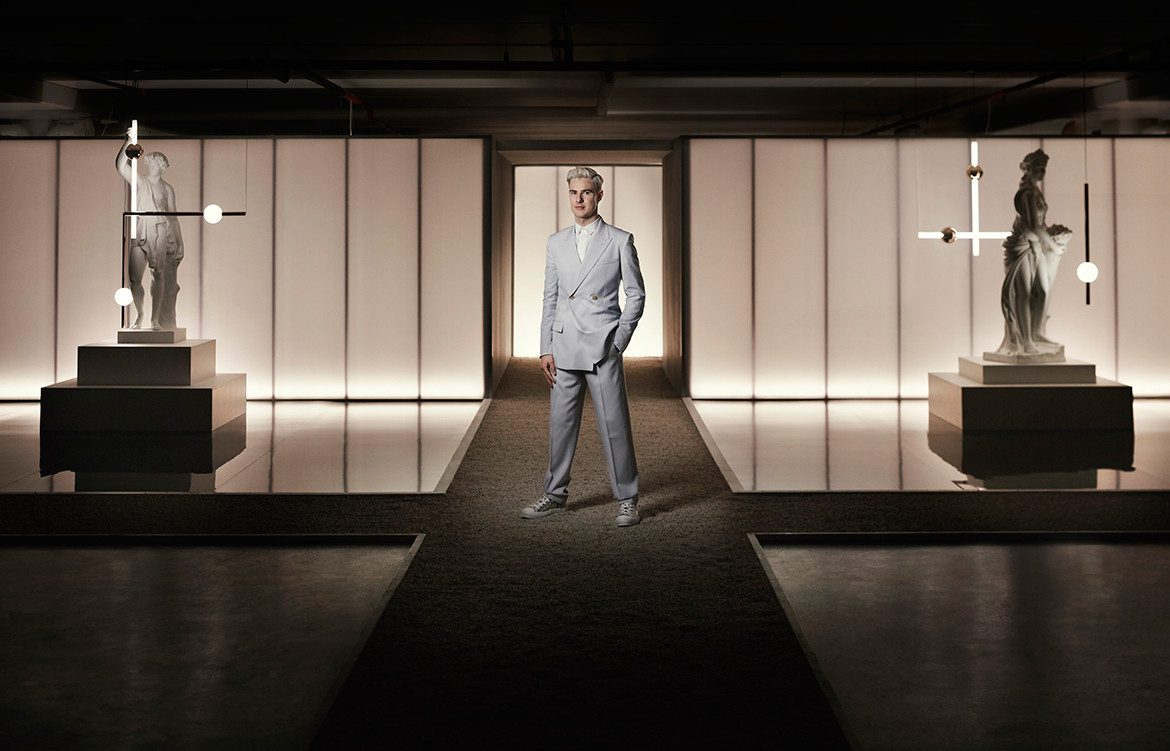 Lee Broom is celebrated as one of United Kingdom's most successful, theatrical, and respected, lighting designers.