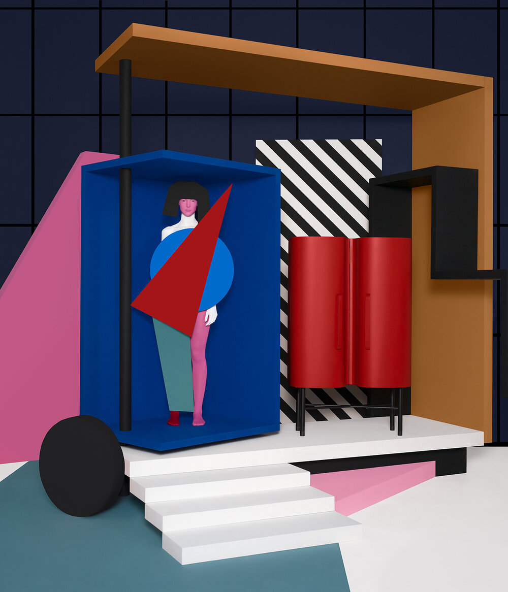 CODA – Geometric Furniture Installation