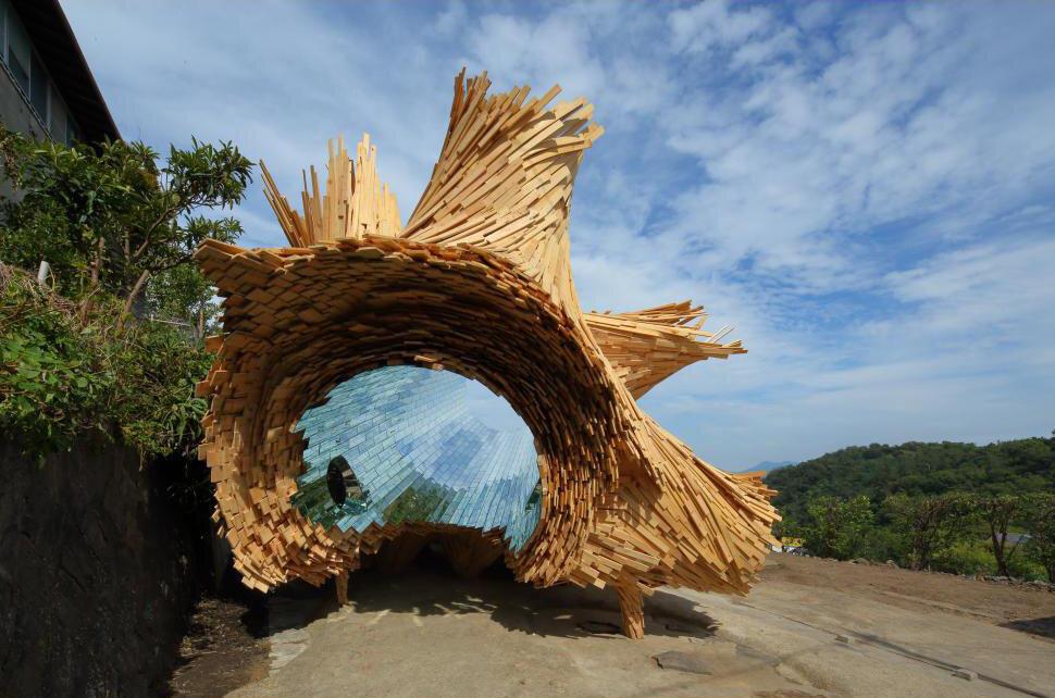 """Tree of Ibuki 2020 """"Setouchi Art Triennale 2020"""""""