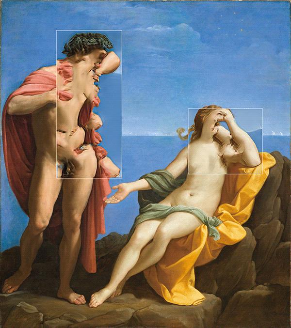 Bacchus and Ariadne, circa / Guido Reni (1619-1620)