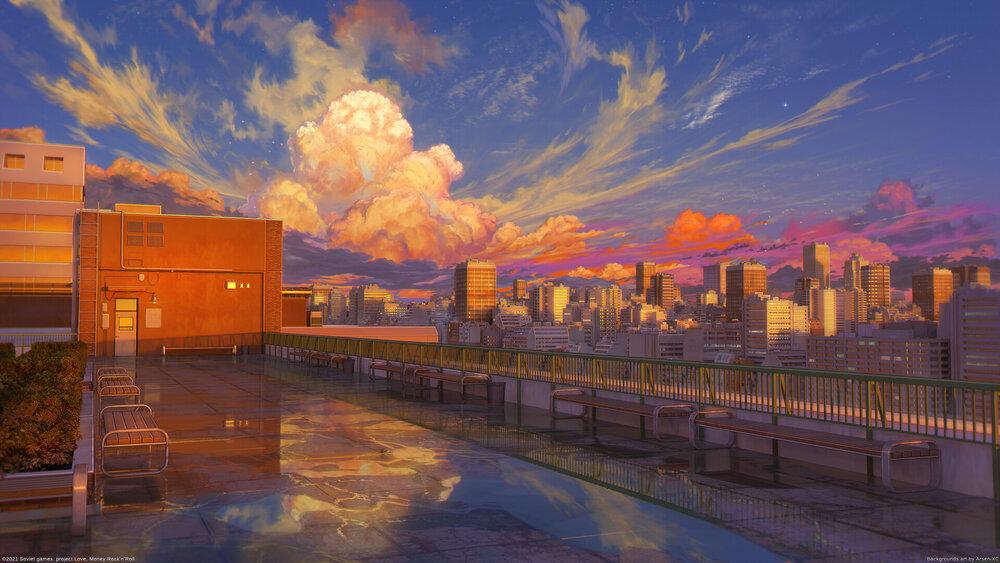 arseniy-chebynkin-school-roof-sunset.jpeg