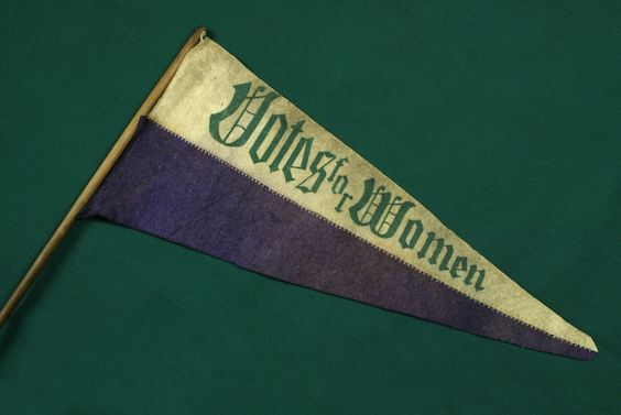 This Votes for Women pendant is still an affordable Suffragette item