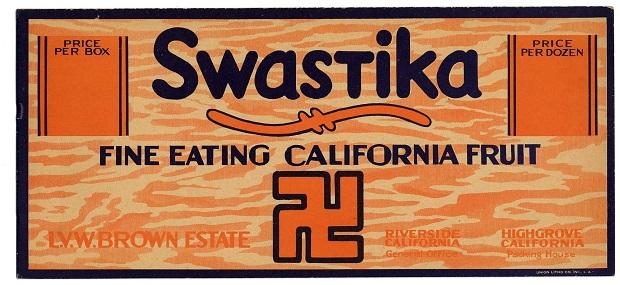 1920s era fruit crate label