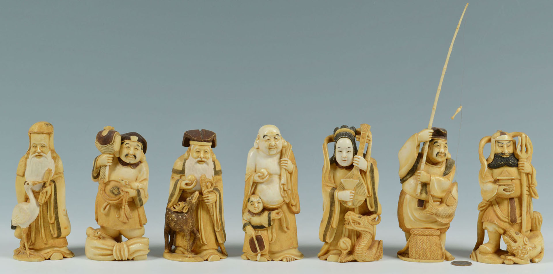 These Seven Lucky Gods were purchased 70 years ago. Is it legal to have them?