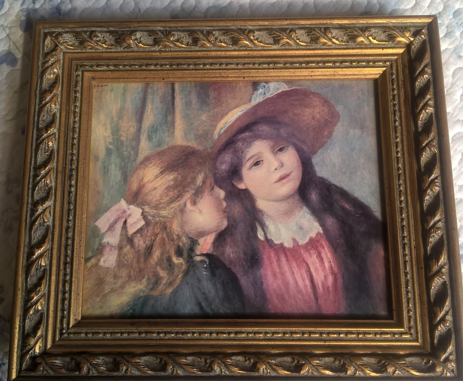 Renoir's Portrait of Two Young GIrls
