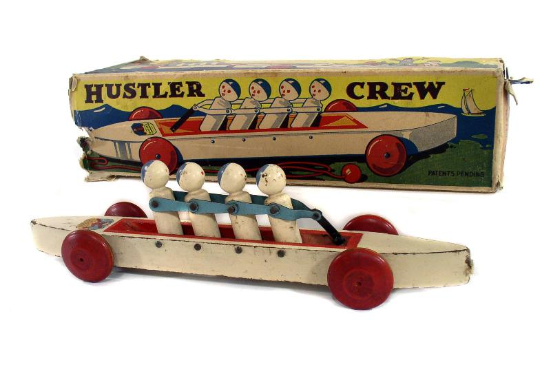 The Hustler Crew in good condition with original box can sell for $100.00