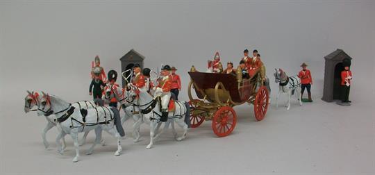 Britains Historical Series 9402 - Open Landau