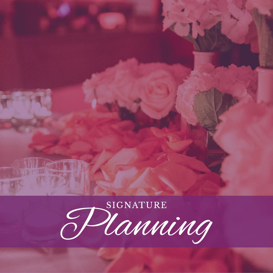 Pure Elegance Events - Signature Planning