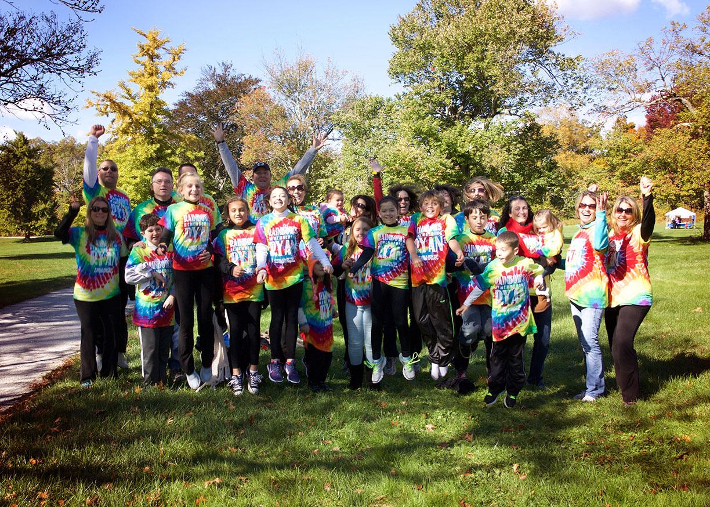 Rainbow team walk autism speaks NJ.jpg