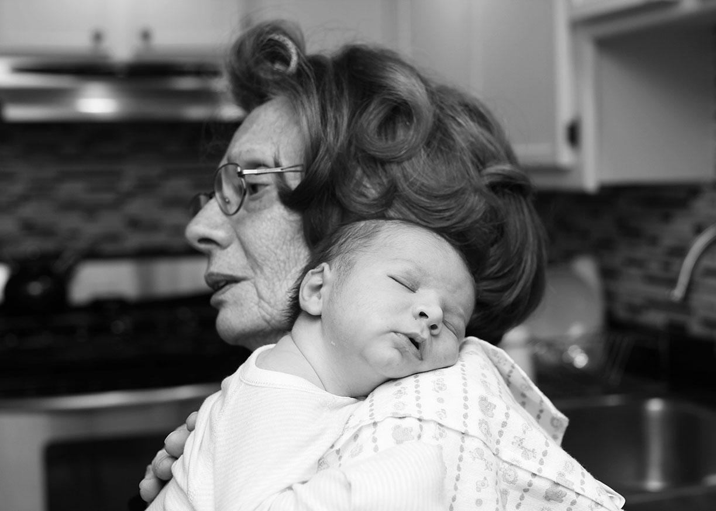 Grandma with newborn morning curlers.jpg