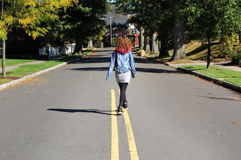 girl walking potrait in the road.jpg