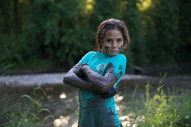 Litle girl in the mud strong Fairfeild CT.jpg
