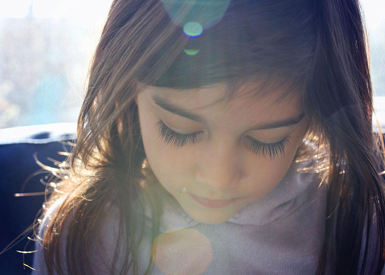 Quiet lovely portrait little girl model.jpg