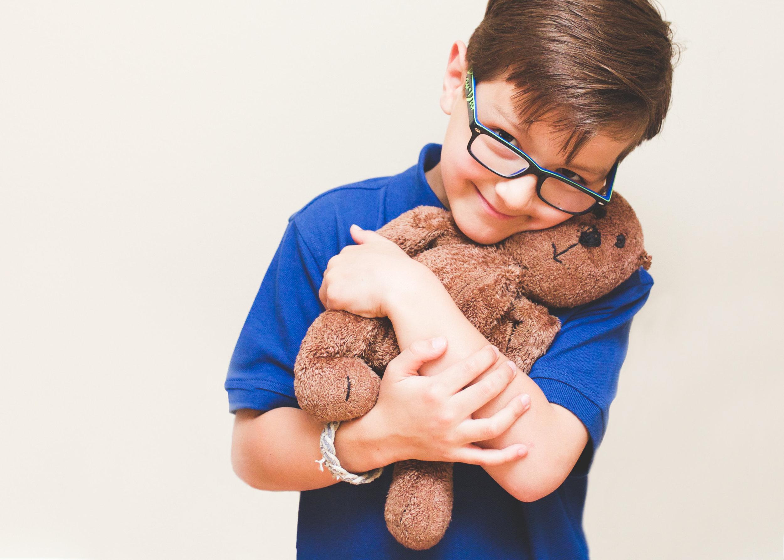 _Sweet boy with teddybear home studio shoot New Canaan Connecticut.jpg