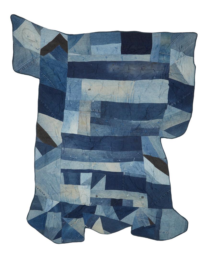 Denim Square Quilt